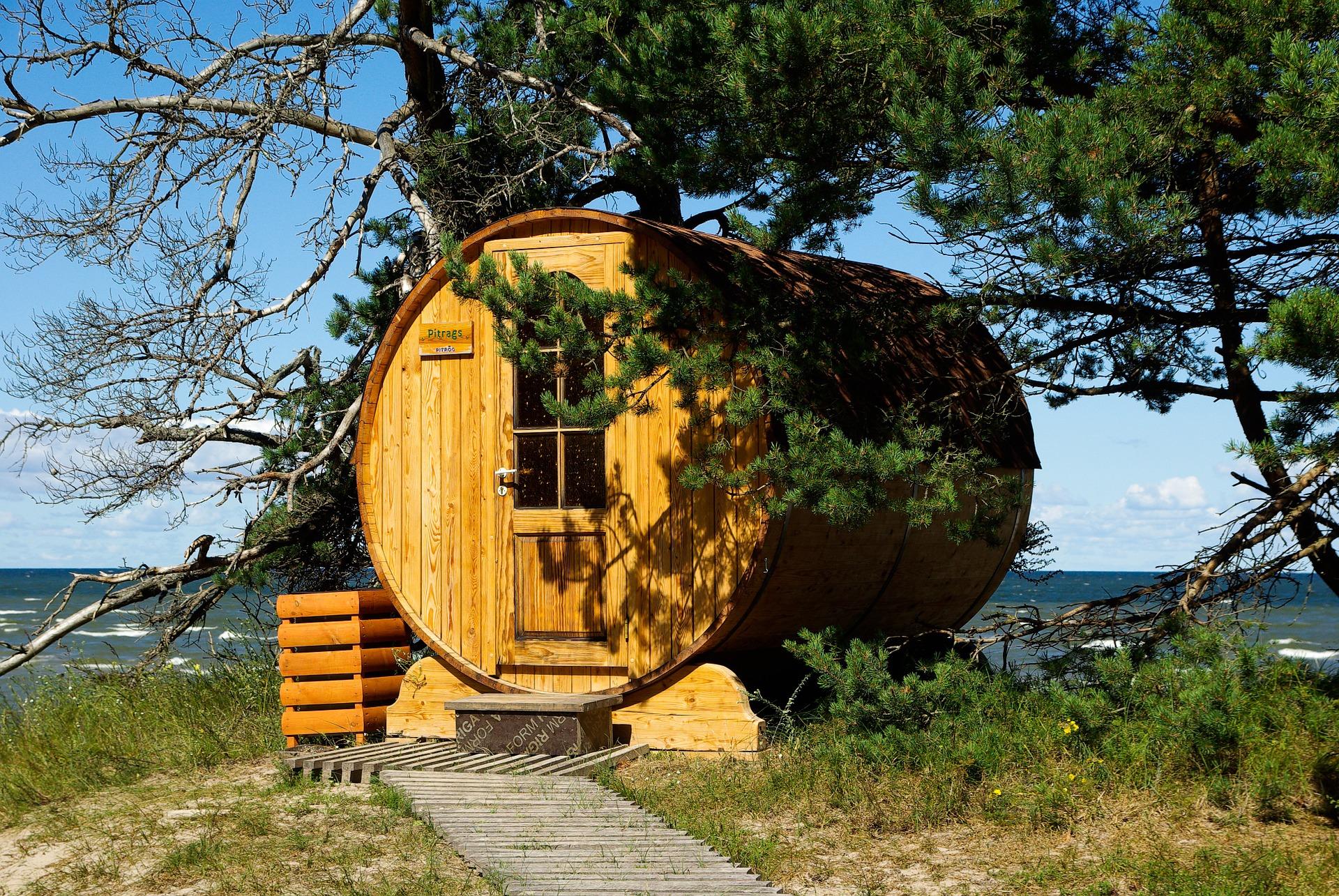 Sauna am Heidesee